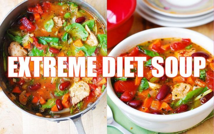 The Extreme Diet Soup
