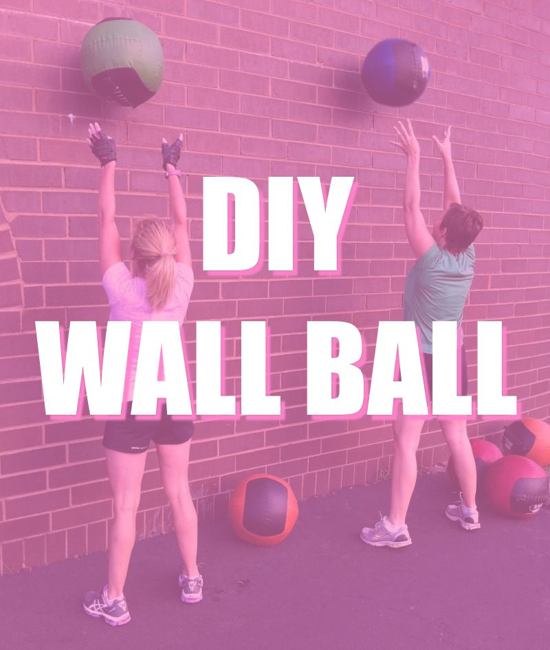 Diy garage gym how to build a wall ball
