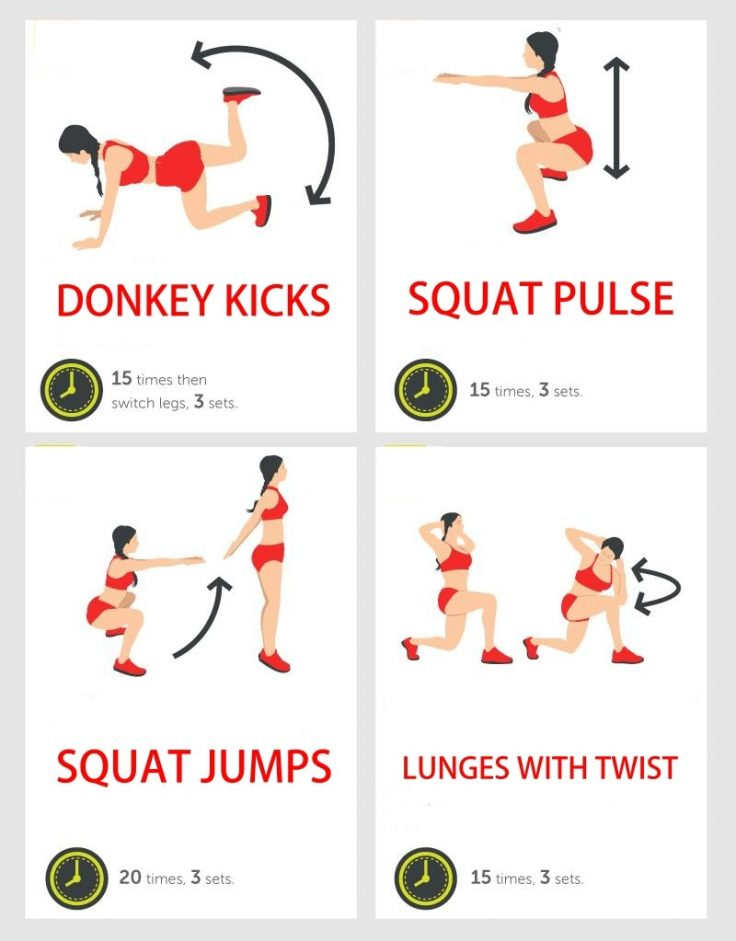 15 Moves For The Best Butt Ever