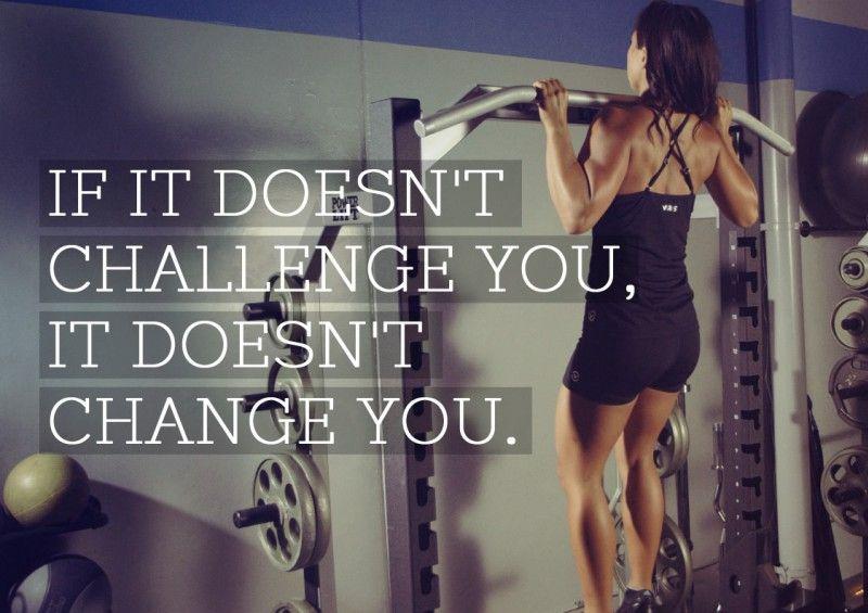 Challenge is change