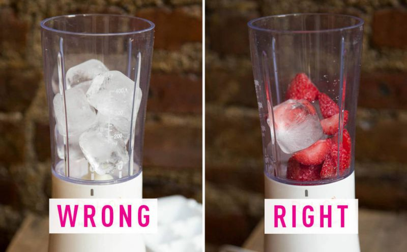 Add Less Ice To Your Smoothie