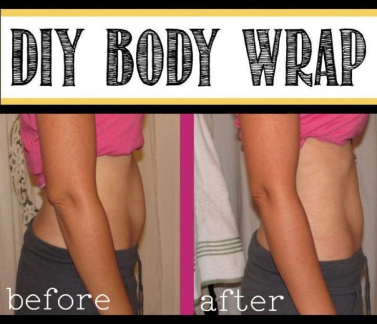 Diy At Home Weight Loss Wrap: DIY Body Wrap For Weight Loss, Detox And Cellulite Treatment