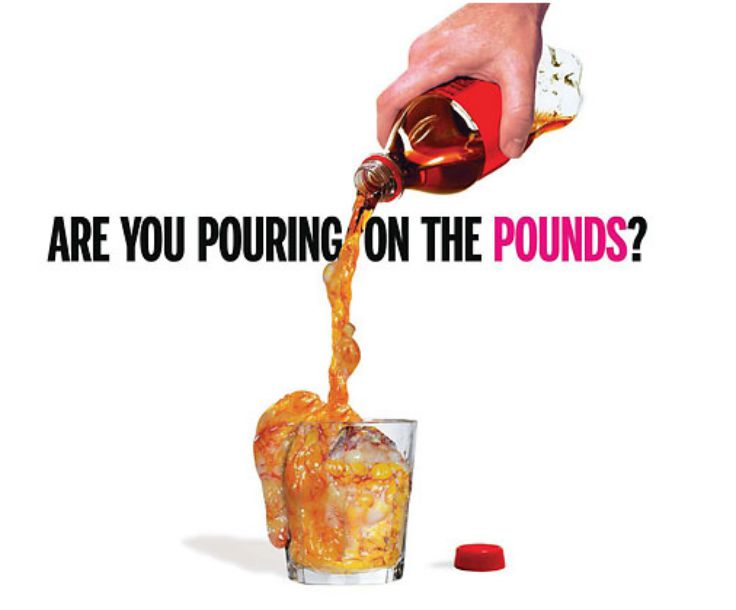 Soda - Are you pouring on the pounds?