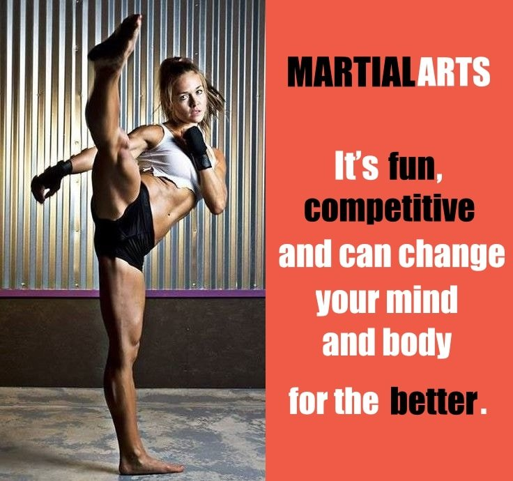 Fun Activities to Burn Calories - Martial Arts