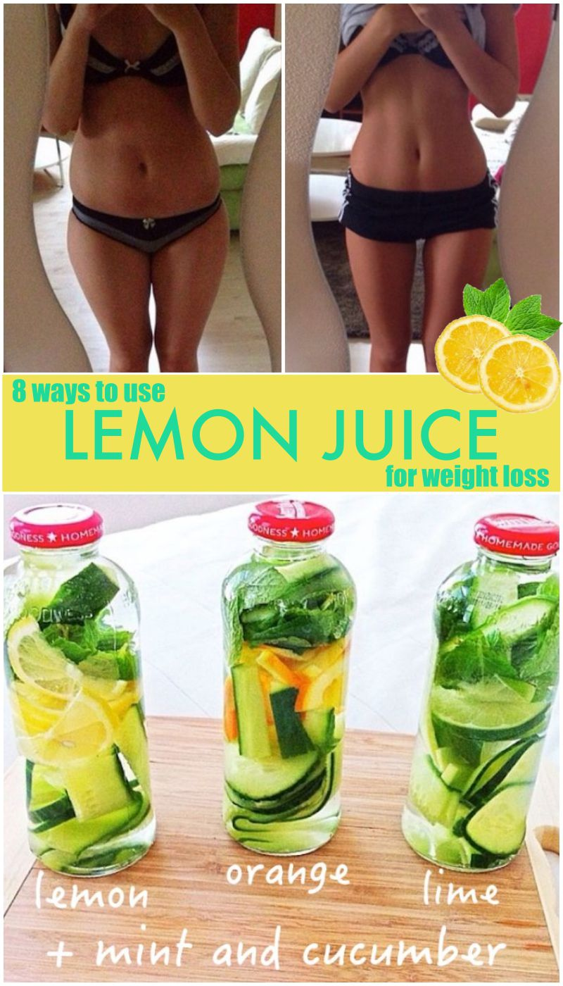 Lemon ginger zinger weight loss