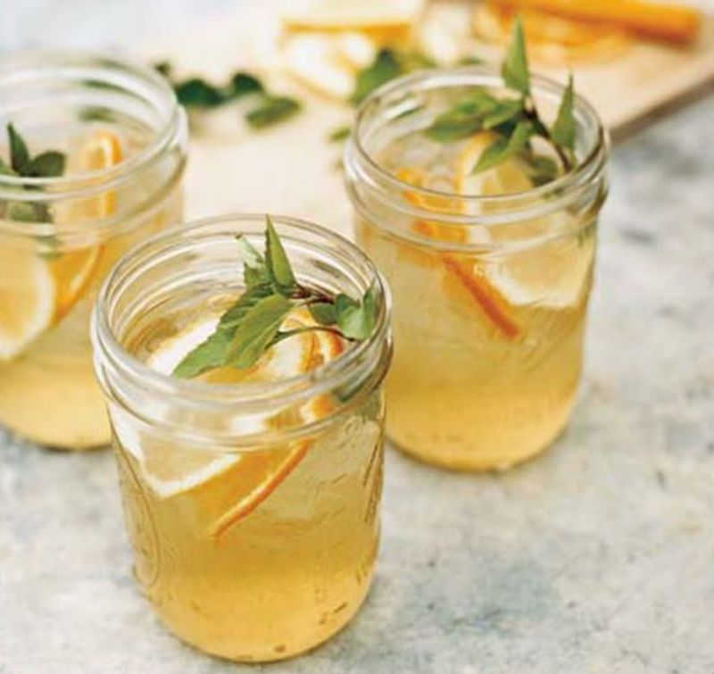 Lemon, Orange, Honey, And Basil