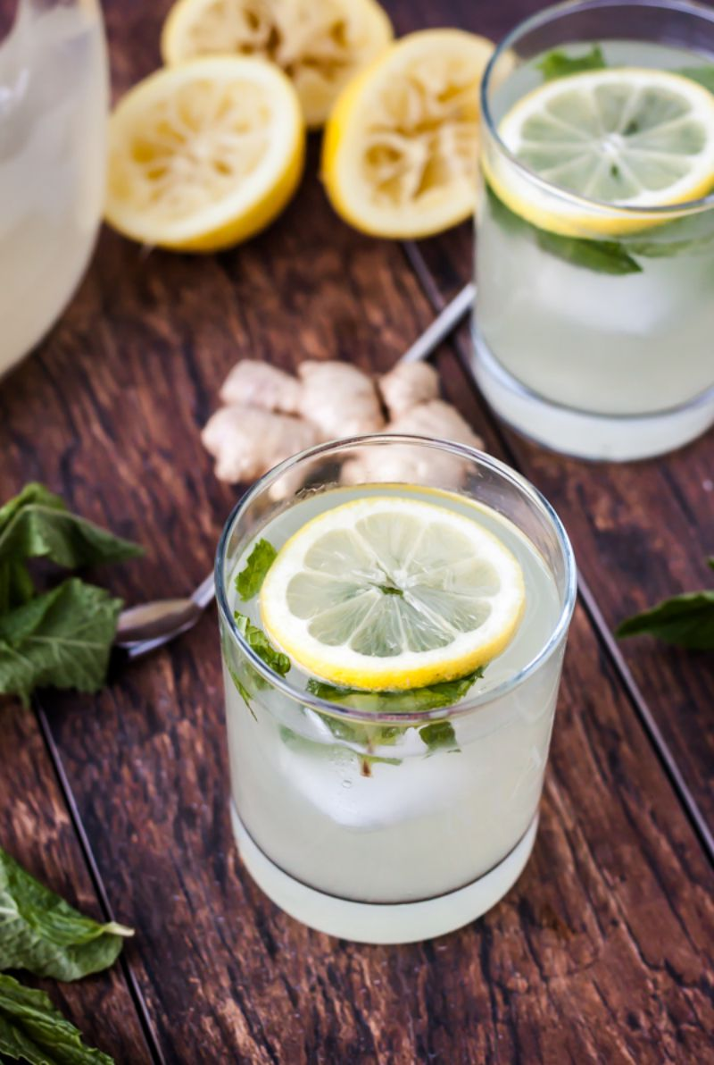 Refreshing Lemon Drink