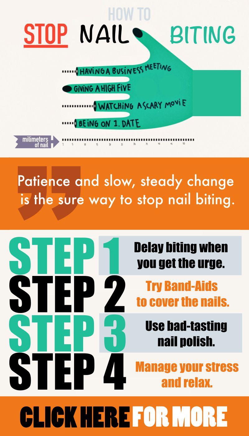 Unhealthy Habits - Break Nail Biting