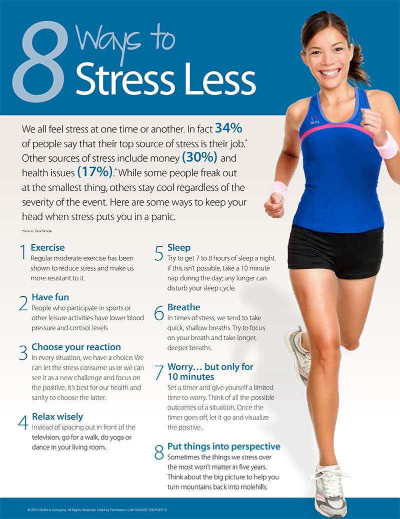 8 Ways To Stress Less