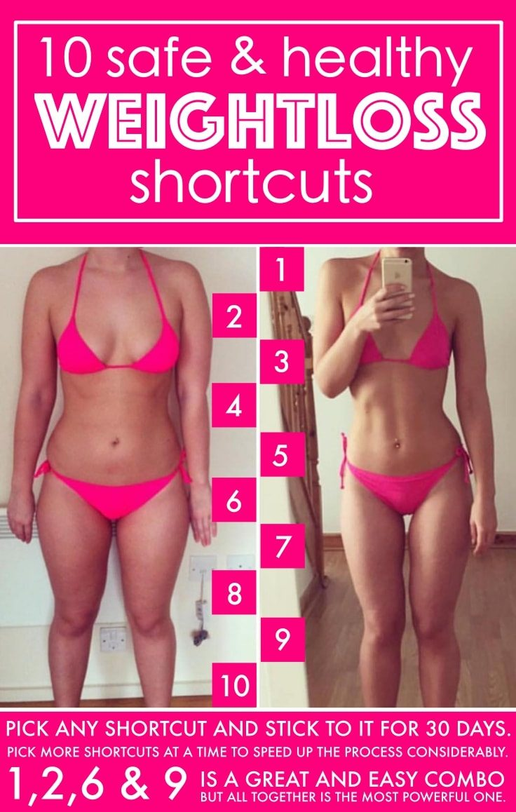 10 Weight Loss Shortcuts