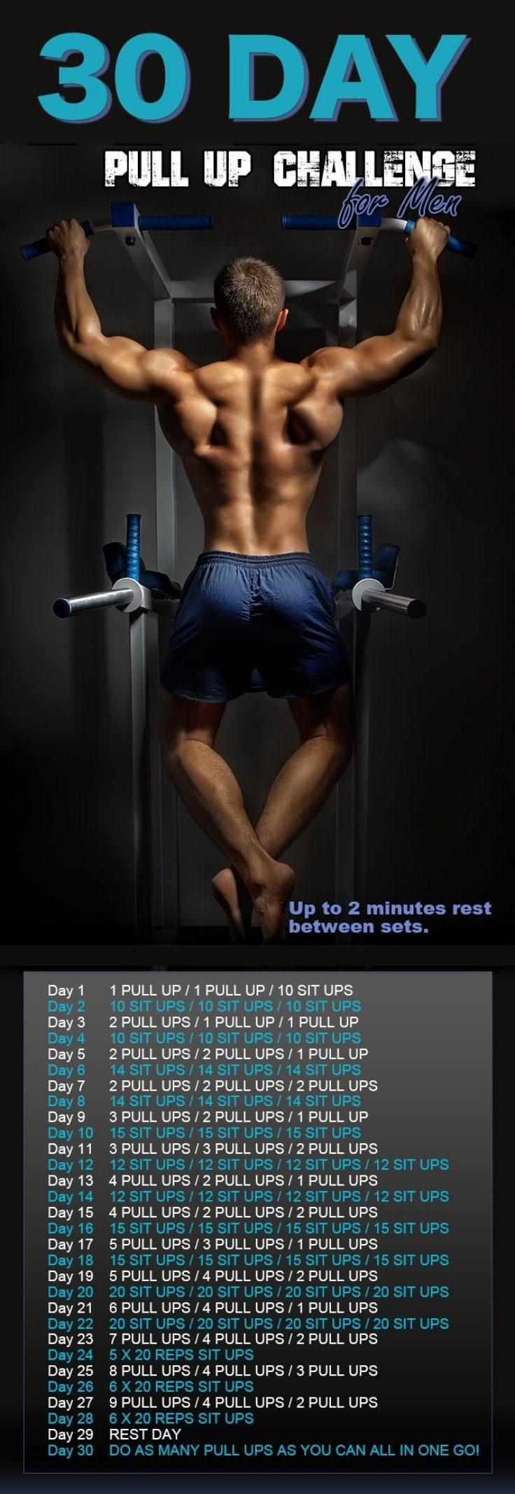 30 Day Pull-Up Challenge For Men