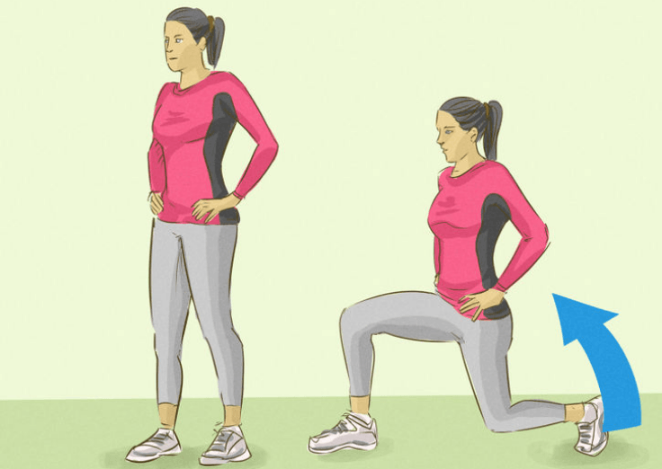 Exercises For Runners - Lunges