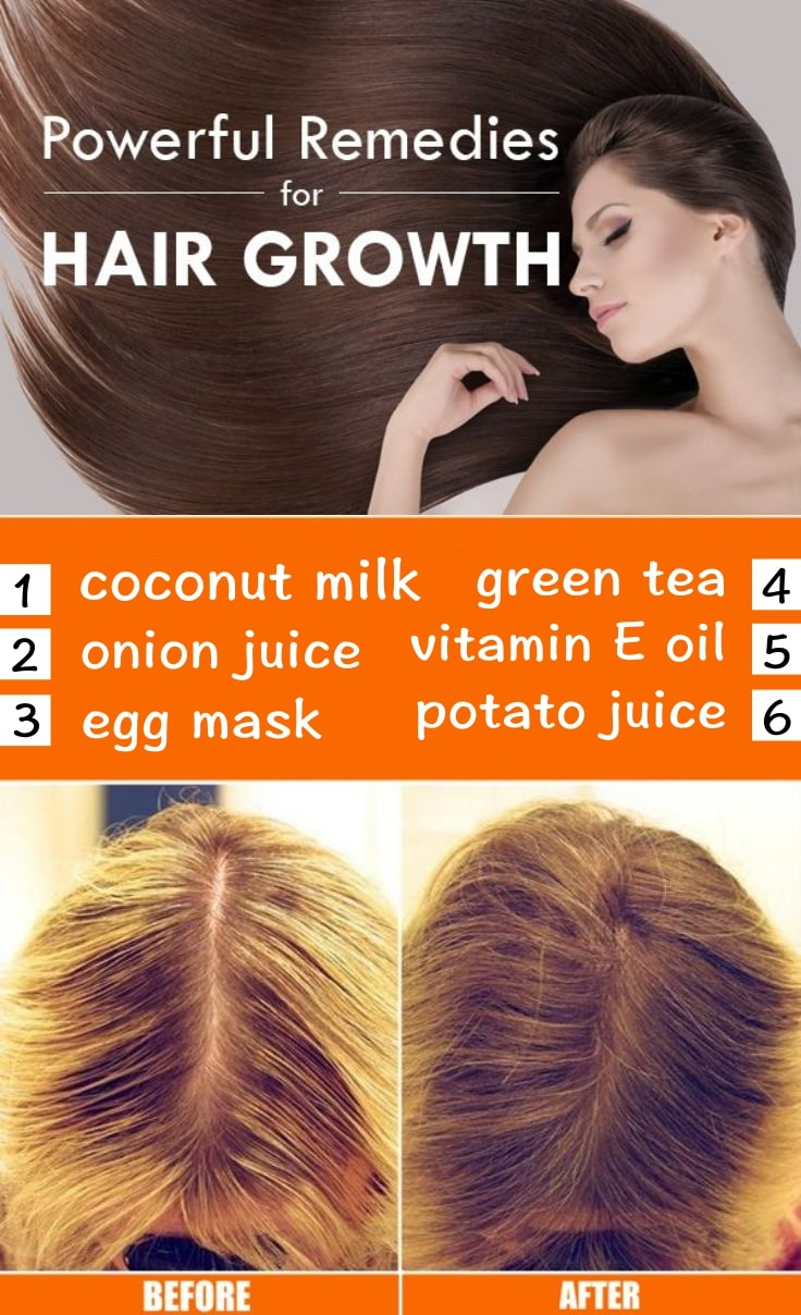 Home Remedies For Dry Hair And Hair Growth