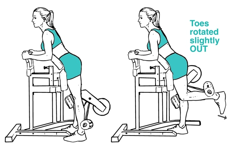 Standing Leg Curl OUT