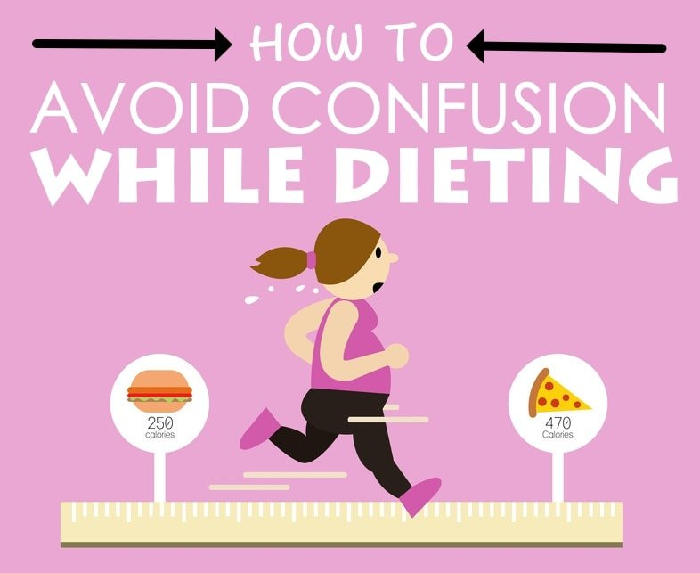 How To Avoid Confusion While Dieting