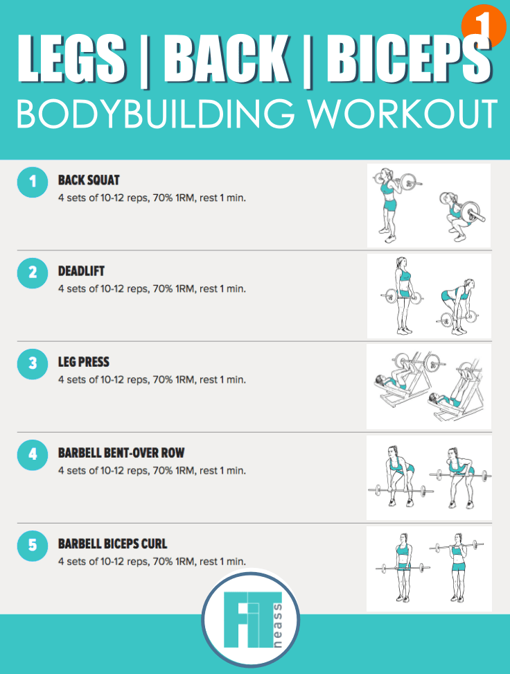 Bodybuilding Workout - Day 1