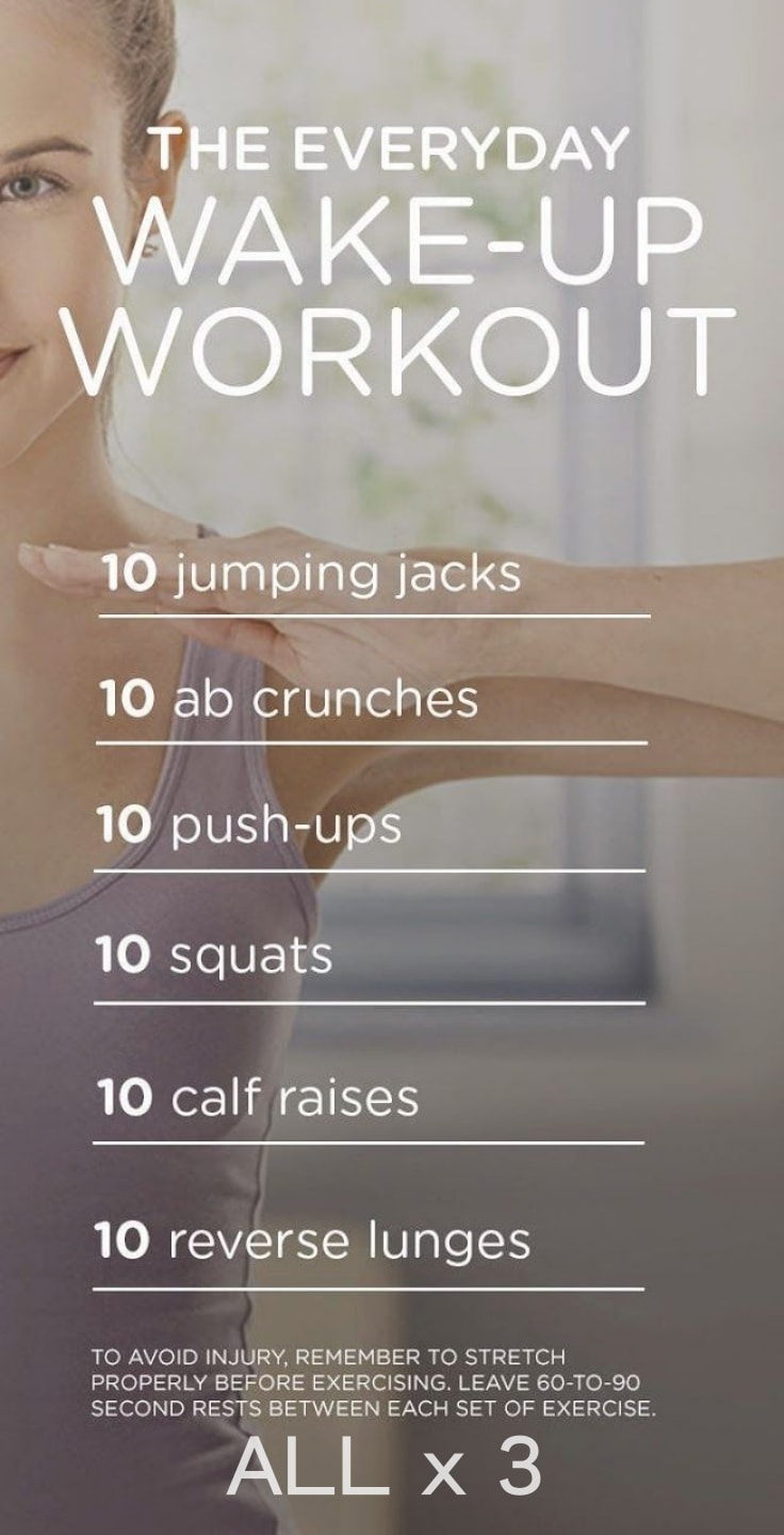 Everyday Wake Up Workout