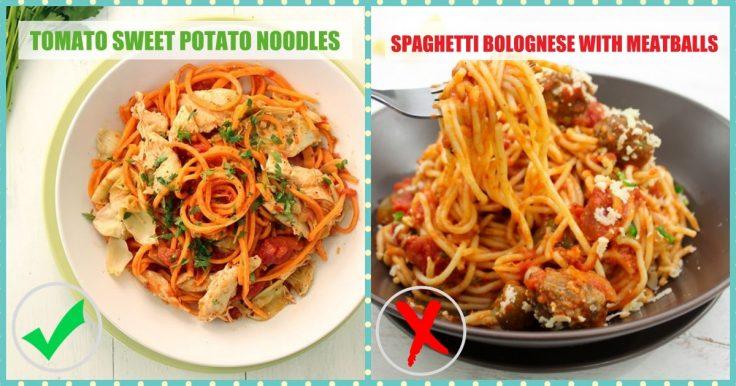 Junk Foods Substitutes - Pasta