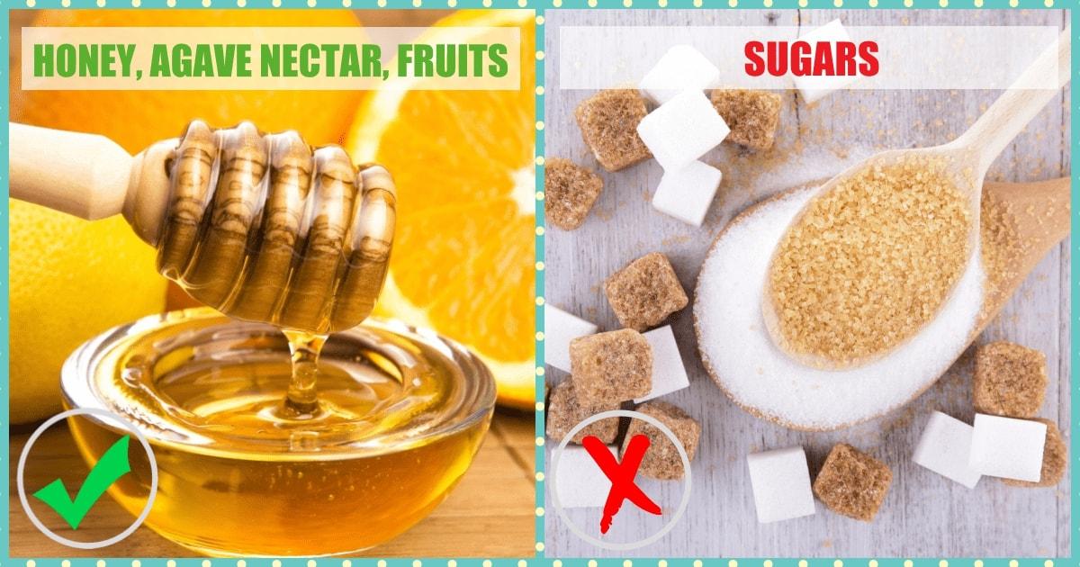 Junk Foods Substitutes - Sugars