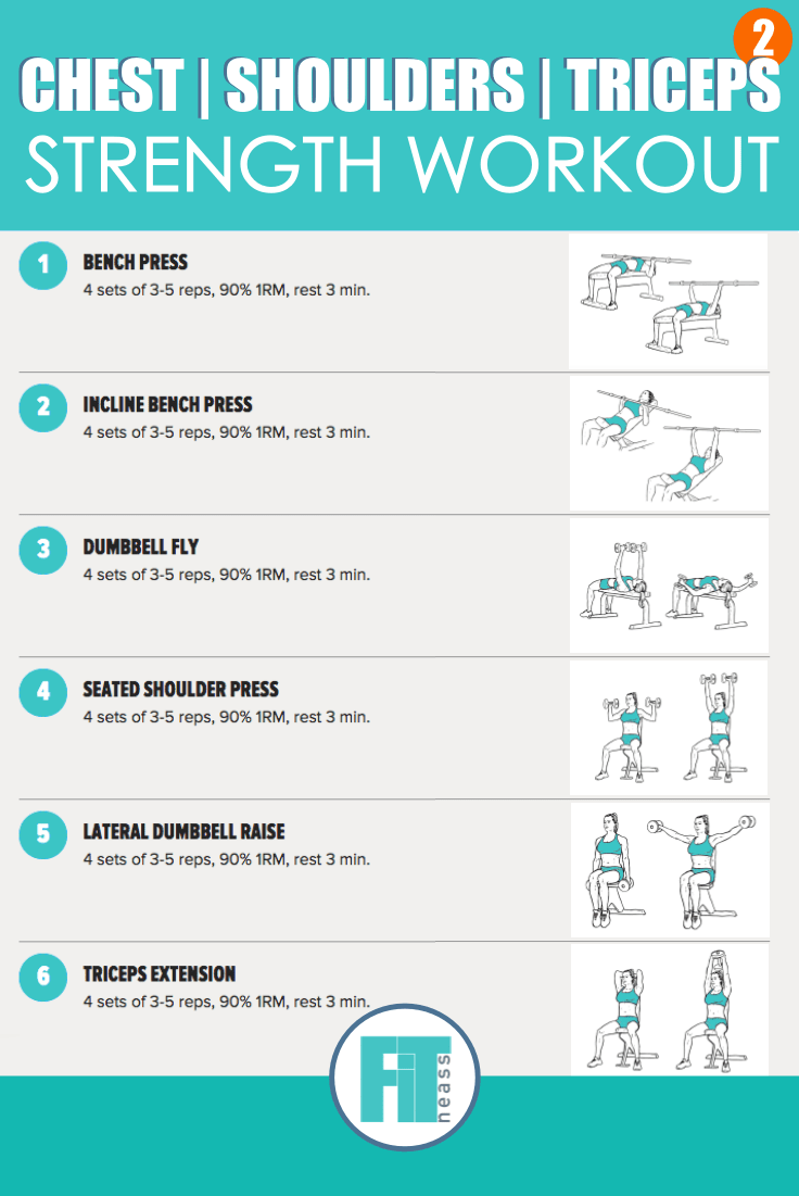Strength training workout plan pdf