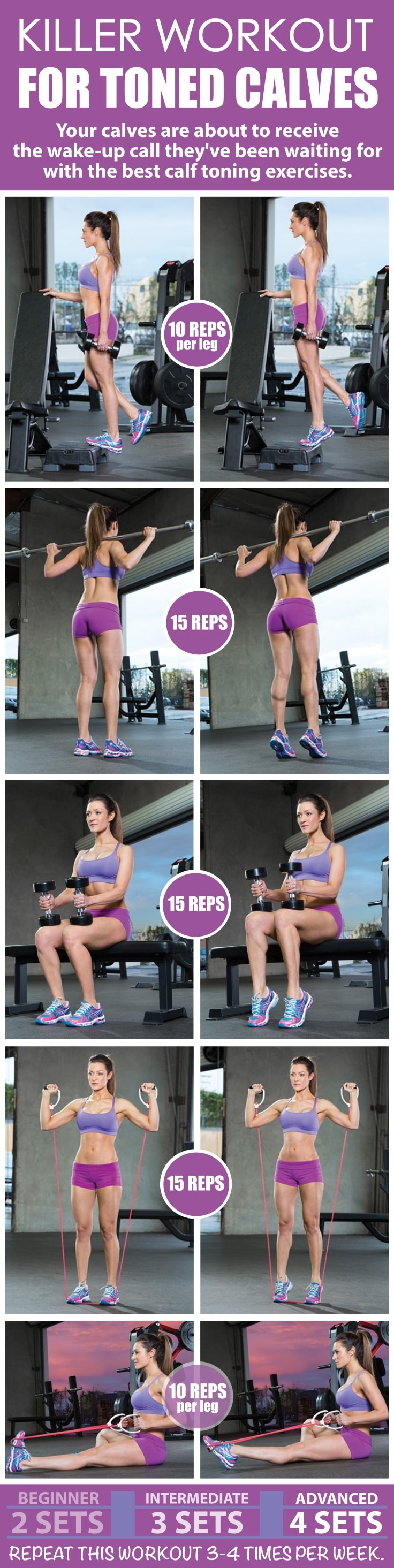 Workout for Toned Calves