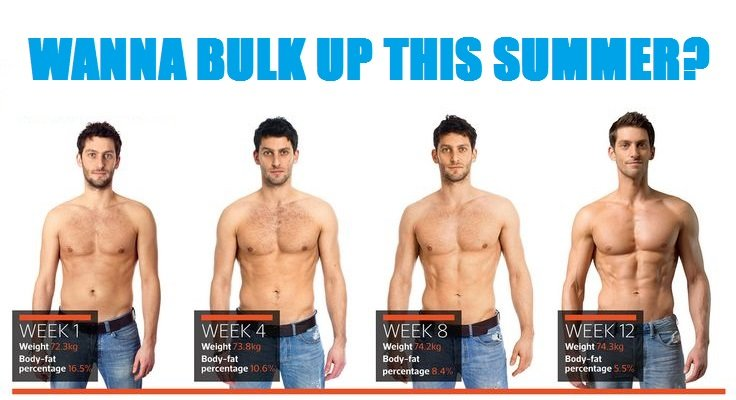 How To Bulk Up This Summer