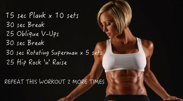 No Equipment Workouts - Abs