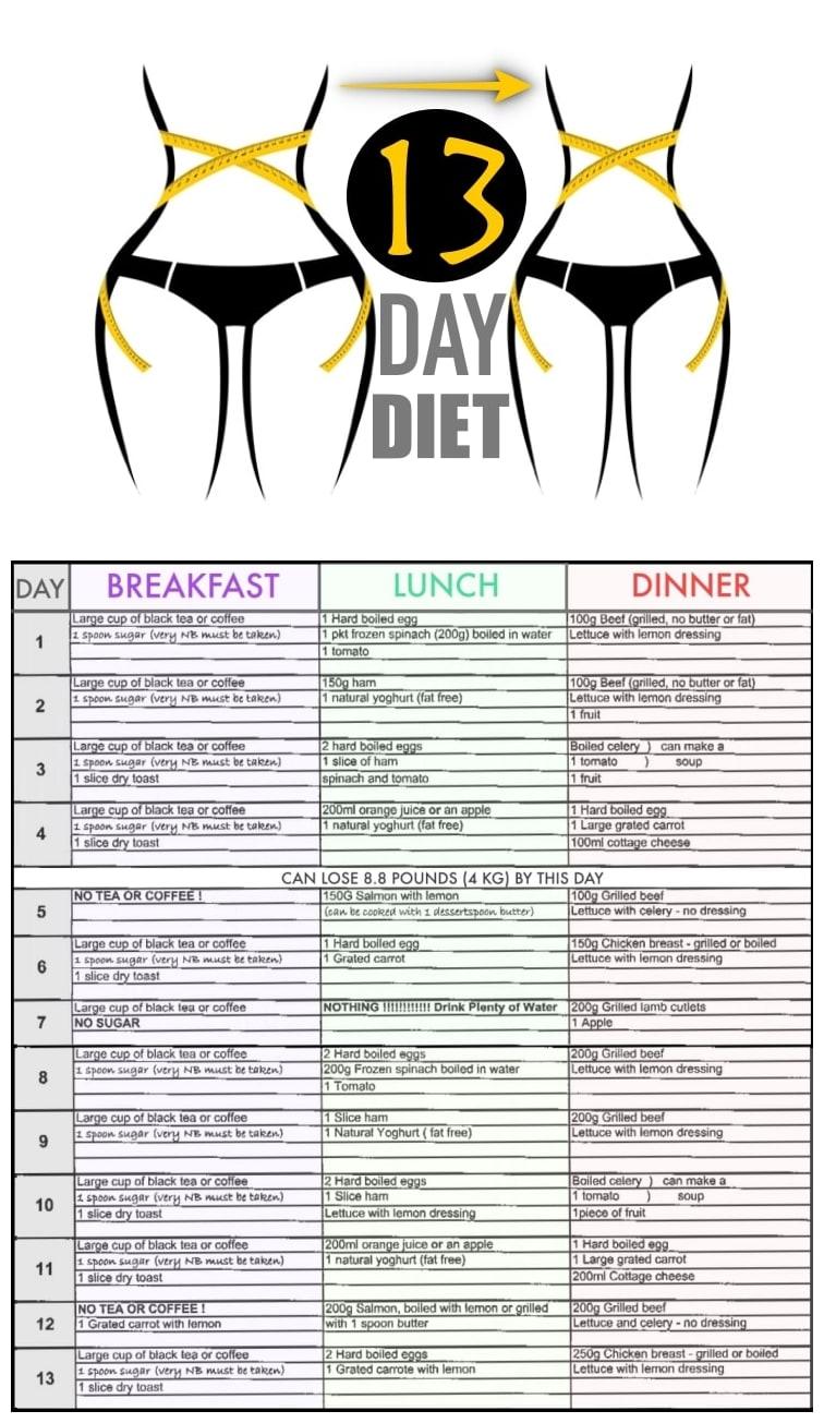 13 Day Diet