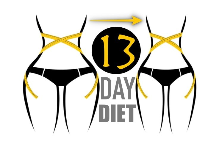 13 Day Diet That Helps You Lose Up To 40 Pounds Fitneass