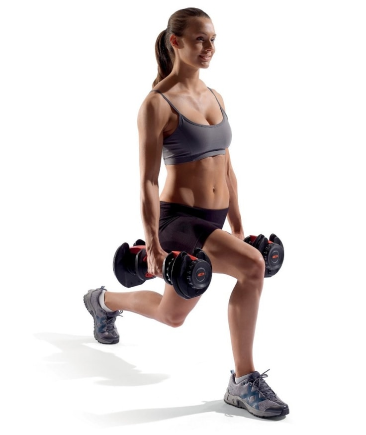 Equipments For Quick Workouts - Adjustable Dumbbells