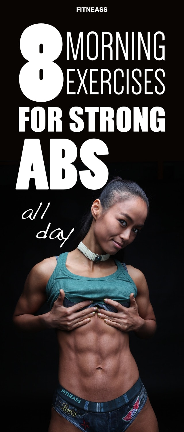 8 Morning Abs Exercises