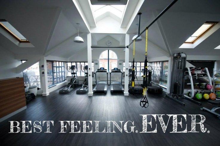 Empty gym, Best feeling ever