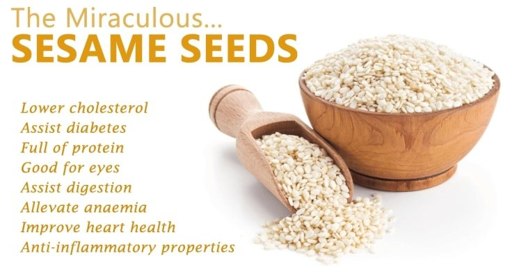 Natural Arthritis Treatments - Sesame Seeds