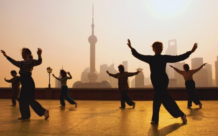 Relaxation Exercises - Tai Chi