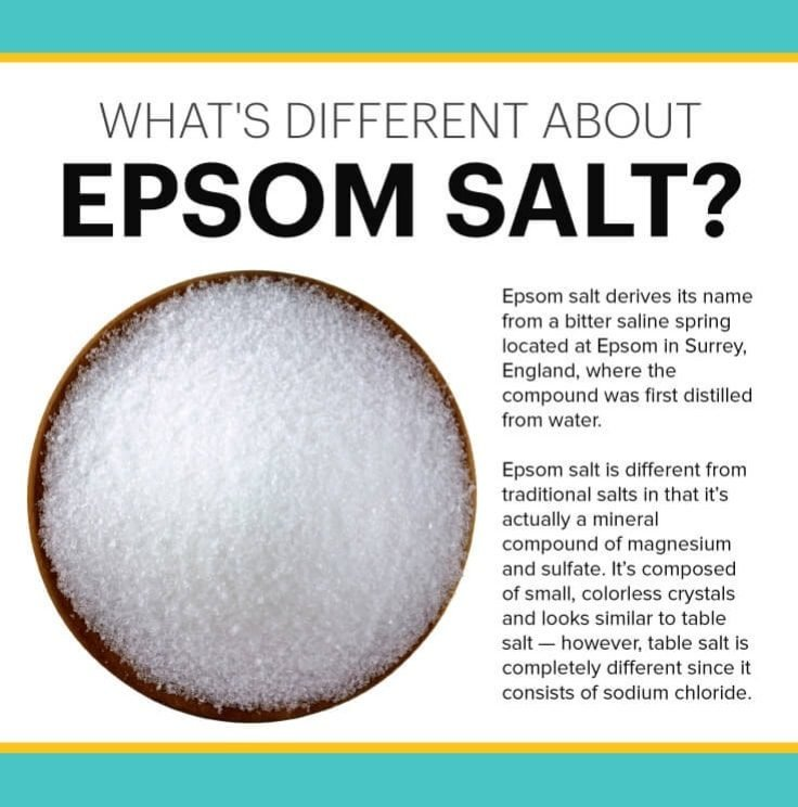 What's Different About Epsom Salt