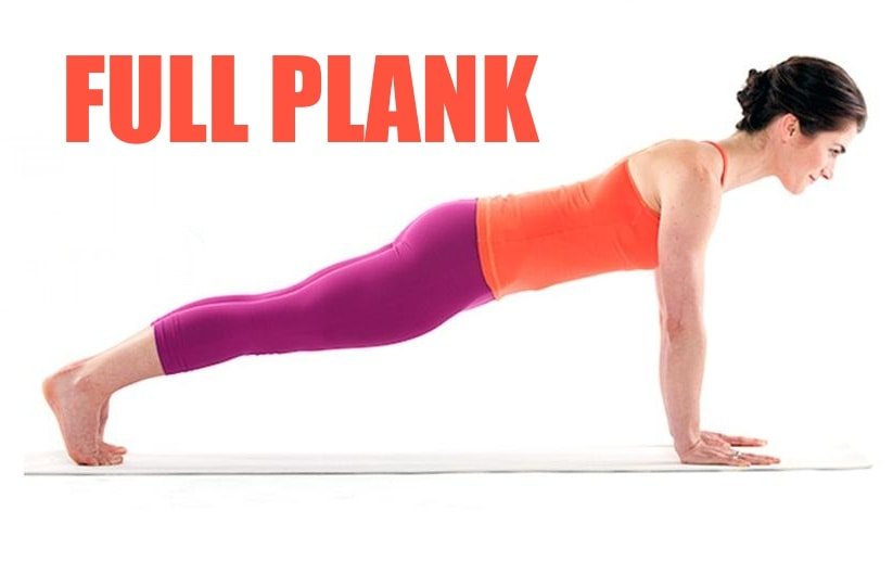5-Min Plank Workout - Full Plank
