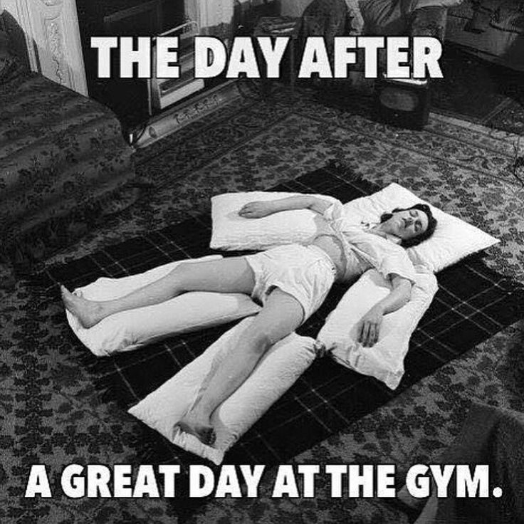 After Overtraining Comes Soreness