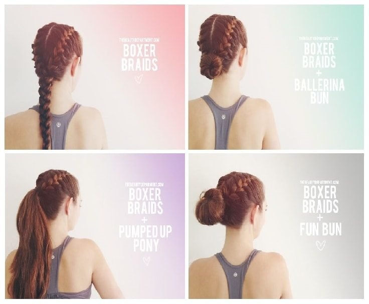 Gym Hair Hacks - Braids