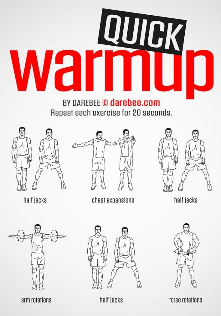 Quick Warmup Workout