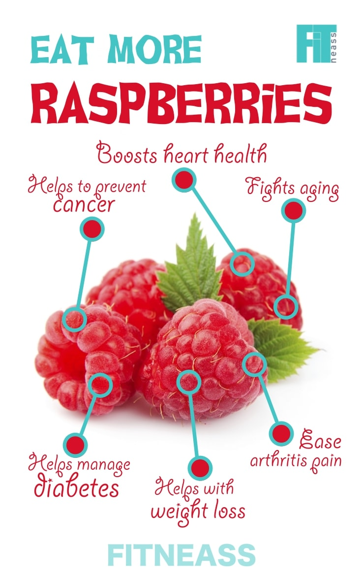 Health Benefits of Raspberry