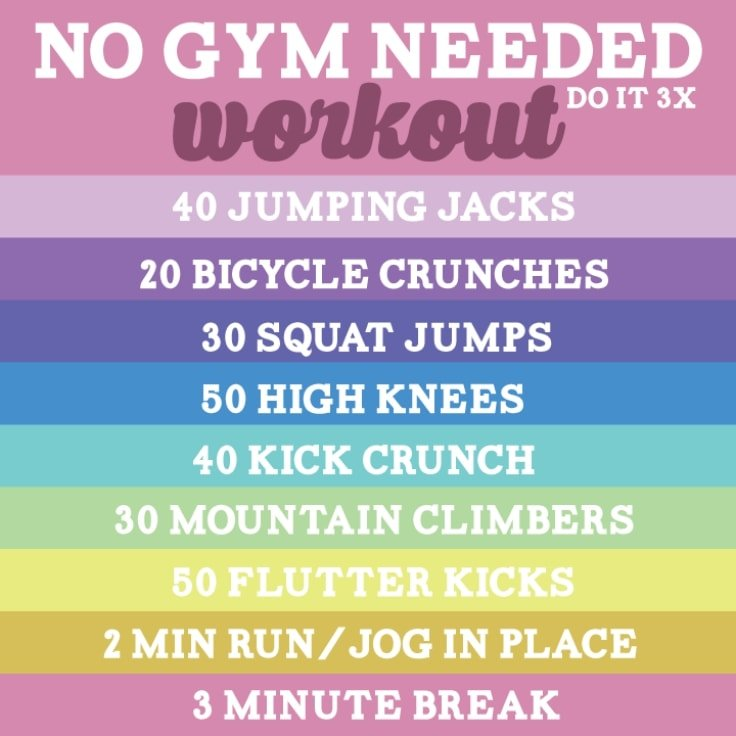 No Gym No Problem Workout To Stay Motivated