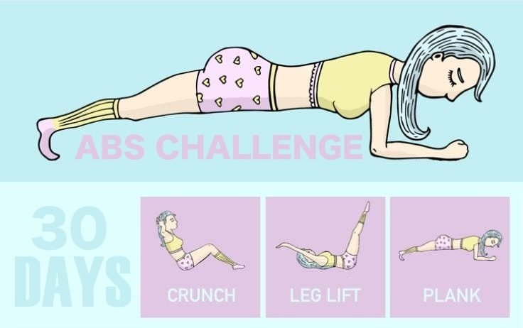 30-Day Abs Challenge