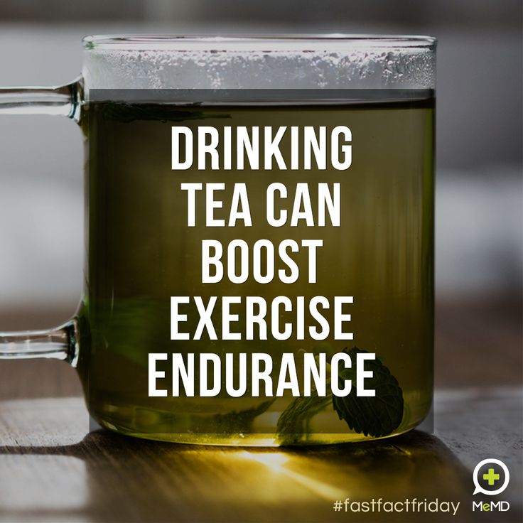Benefits Of Drinking Tea After Working Out