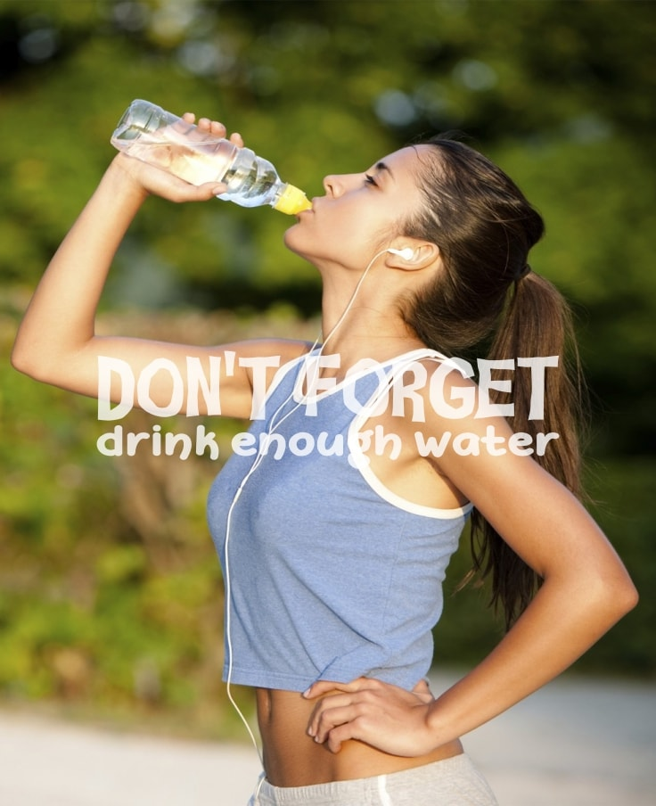 Clean Eating By Drinking Water