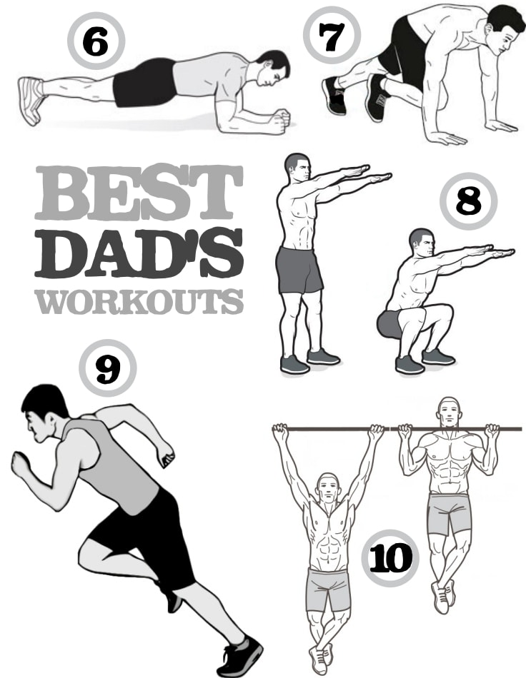 Dad's Best Home Workouts