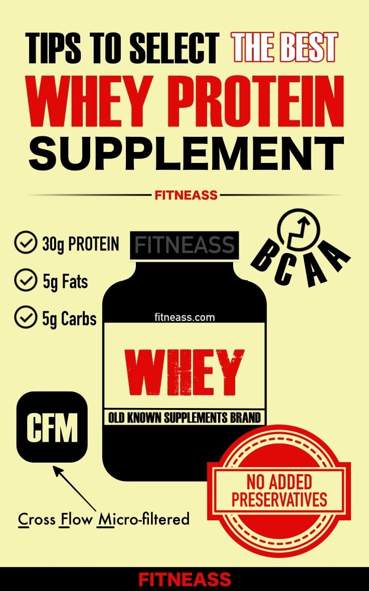 How To Choose The Best Whey Protein