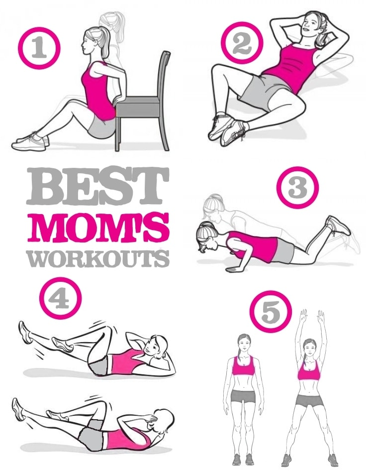 Mom's Best Home Workouts