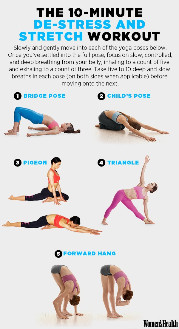 Destress And Stretch Workout