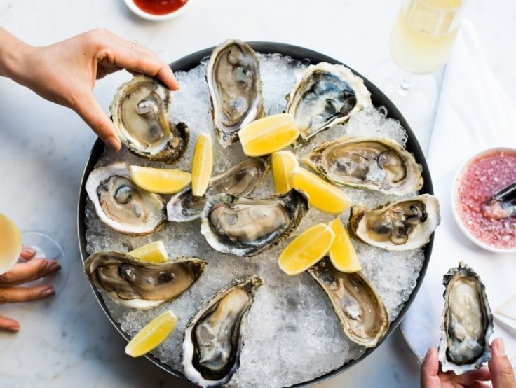 Oysters For Healthy Hair