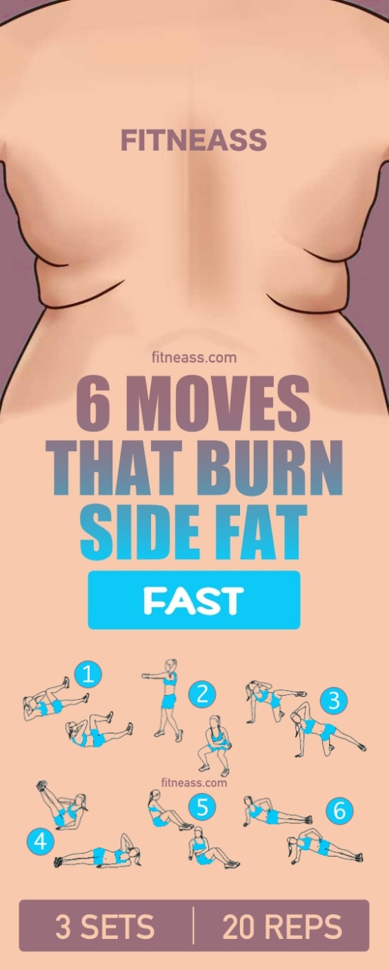 Workout To Burn Side Fat FastWorkout To Burn Side Fat Fast